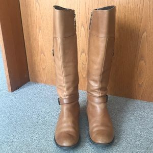 SPERRY TALL VICTORY RIDING BOOTS TAN SIZE 8.5 MED